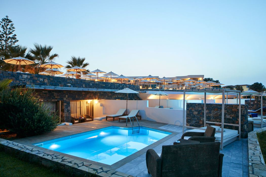 Crete Suite privet pool