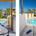 ROOM WITH SHARED POOL island crete
