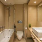 island hotel Crete bathroom